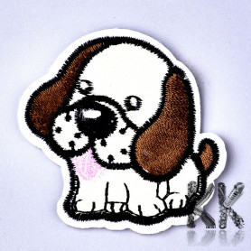 Iron-on picture embroidery - Pes- 52 x 53 x 1.5 mm