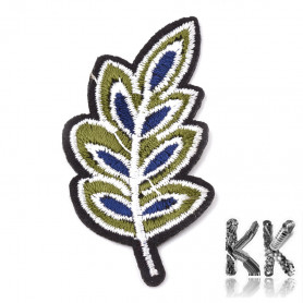 Iron-on picture embroidery -List - 60 x 29 x 1.5 mm