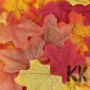 Plastic maple leaves, suitable for autumn room decoration, for the production of decorative trees and other various interior and exterior decorations. The size of the sheet is 80 x 70 mm. If you prefer one of the eight leaf colors, state it in the order note. The colors are numbered in the details of the pictures. THE MENTIONED PRICE IS FOR 1 PIECE.