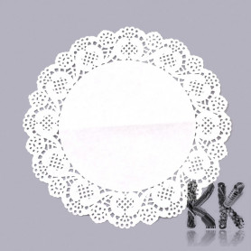 Decorative lace made of waxed paper - Ø 26 cm
