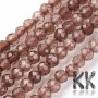 Tumbled round beads made of natural mineral smoky quartz with a diameter of 2 mm with a hole for a thread with a diameter of 0.5 mm. The beads are completely natural without any dye. Country of origin Brazil, USA, Switzerland THE PRICE IS FOR 1 PCS.