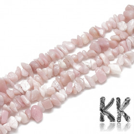 Natural pink opal - colored fragments - 5-8 mm - 5 g