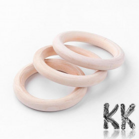 Wooden rings for dream catchers - Ø 58 x 9 mm