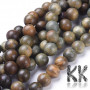 Real green sandalwood beads with a diameter of 8 mm and a hole for a thread with a diameter of 1 mm. The beads are absolutely natural, without any dye and have their typical sandalwood scent. Country of origin Mexico THE PRICE IS FOR 1 pc.
