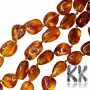 Nuggets made of natural Baltic amber with dimensions 11-14 x 5-10 x 3-6 mm and with a hole for a thread with a diameter of 1 mm. The beads were tested by the Lithuanian Gemological Institute (a laboratory for testing precious stones and minerals) and obtained a certificate of authenticity. The beads are absolutely natural without any dye and have been heated. COUNTRY OF ORIGIN: LITHUANIA THE PRICE IS FOR 1 pc.