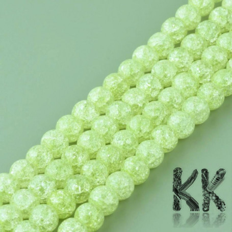 Synthetic crystal - ∅ 8 mm - one-color balls