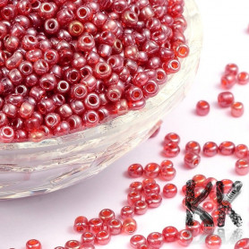 Chinese seed beads - translucent - 8/0 - weight 1 g