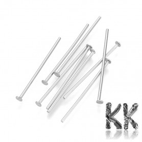 304 Stainless steel loop rivet - 30 mm - quantity 1 g (approx. 10 - 11 pcs)