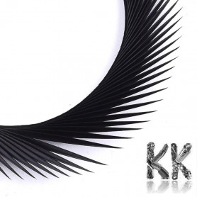 Dyed goose feathers - 150 - 265 x 3 - 4 mm