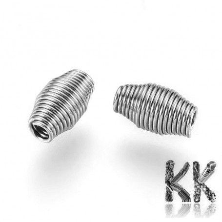 340 stainless steel bead cage - Ø 7.5 x 4 mm