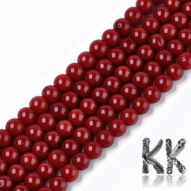 Synthetic bamboo coral - Ø 4.5 - 5 x 4.5 mm - colored balls