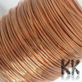 Copper wire - lacquered - Ø 0.5 mm - length 28 m