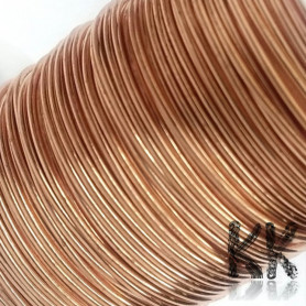 Copper wire - lacquered - Ø 0.8 mm - length 12 m