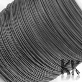 201 Stainless Steel Wire (so-called Tiger Tail) - Ø 0.3 mm - length 165 m (approx. 60 g)