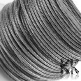 304 Stainless Steel Wire (so-called Tiger Tail) - Ø 1 mm - length 15 m (approx. 60 g)