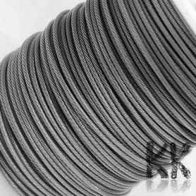 210 Stainless Steel Wire (Tiger Tail) - Ø 0.8 mm - length 25 m (approx. 60 g)