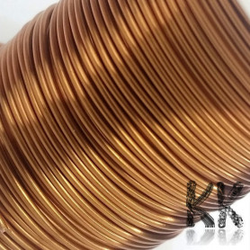 German Copper Wire - 1x Lacquered PU - Ø 0.8 mm - Length 12 m (approx. 60 g)