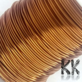 German Copper Wire - 1x Lacquered PU - Ø 0.6 mm - Length 20 m (approx. 60 g)
