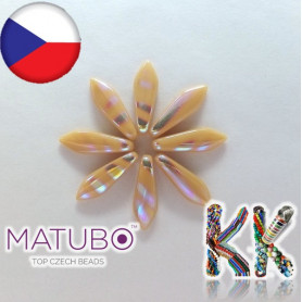 MATUBO ™ LANGUAGES - opaque with metallized strips - 5 × 16 mm