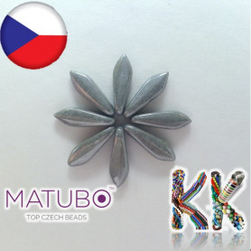 MATUBO ™ LANGUAGES - opaque pearl - 5 × 16 mm