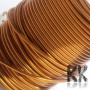 Copper wire from the German brand SCHWERING & HASSE GmbH with a high-quality lacquered surface with a thickness of 1 mm and a length of approx. 7,5 meters (60-65 g). The wires are painted 1x with a polyurethane layer, they belong to the temperature class 180 ° C and correspond to the IEC60317-51 standard. The wire is solderable. Said diameter corresponds to the actually pressed diameter of the wire during production and the subsequently applied layer of varnish increases the diameter of the wire by about 3-4%. The wire is wound on a spool and can be used for the production of wire jewelry or ornaments. THE PRICE IS FOR 1 PC (45 m).