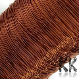 German Copper Wire - 1x Lacquered PEI - Ø 0.3 mm - Length 80 m (approx. 60 g)