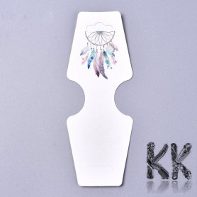 Fold Over Paper Display Hanging Cards - Dream Catcher - 120 x 45 x 0.4 mm