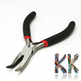 Knotting pliers - semicircular curved