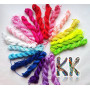 Cord made of braided colored nylon fibers with a diameter of 1 mm and a total length of about 24 m. Very suitable for the production of shambal bracelets. THE PRICE IS FOR 1 PCS (FULL 24 M).