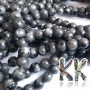 Tumbled round beads made of labradorite mineral with a diameter of 4 mm with a hole for a thread with a diameter of 0.8 mm. The beads are absolutely natural without any dye. Country of origin: Norway THE PRICE IS FOR 1 PCS.