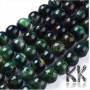 Tumbled round beadsmade of natural mineral green mica with a diameter of 8 mm with a hole for a thread with a diameter of 0.8 mm. The beads are completely natural without any dye. Country of origin Brazil THE PRICE IS FOR 1 PCS.