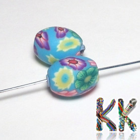 Easter egg made of FIMO material - ∅ 13 x 17 mm