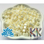 Japanese pearl beads brand TOHO in the shape of cubes in size 6/0 (edge length 4 mm) with an opaque mother-of-pearl surface.THE PRICE IS FOR 1 g.