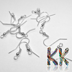 Afro hooks with spring - 18 mm