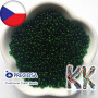 Transparent seed beads of the Czech brand Preciosa with a bead diameter of 3.5 mm with a hole for a 1 mm thread.THE LISTED PRICE IS FOR 1 g (minimum order is 10 g).