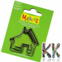 Cutter sets are designed for cutting various shapes from FIMO modeling material. Package dimensions are 7 x 9.5 cm.THE PRICE IS FOR 1 pc.If the number of pieces or items is not listed below this text, it means that the goods are not in stock and are available from the official distributor when ordering. We will therefore send the goods to you within 72 hours (3 working days) of ordering.