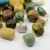 Mineral pendants and undrilled mineral stones
